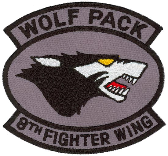 8th FIGHTER WING WOLF PACK