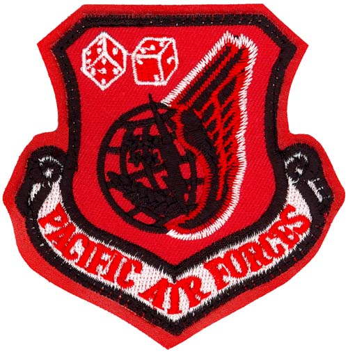 USAF 525th FIGHTER SQUADRON RAPTOR DRIVER MORALE PATCH
