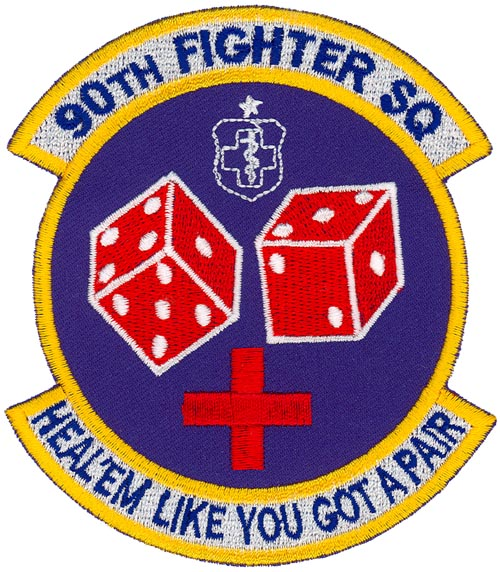 Dicemen fighter squadron patches