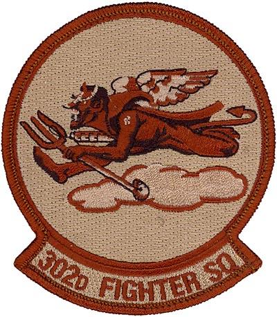 302nd FIGHTER SQUADRON - DESERT