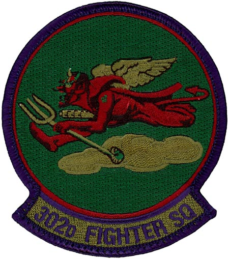 302nd FIGHTER SQUADRON - SUBDUED