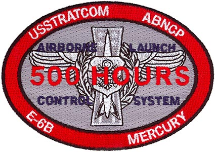 USSTRATCOM AIRBORNE COMMAND POST - LOOKING GLASS - AIRBORNE LAUNCH CONTROL  SYSTEM - 500 HOURS
