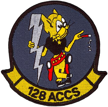 128th AIRBORNE COMMAND and CONTROL SQUADRON – BLACK SHIRT