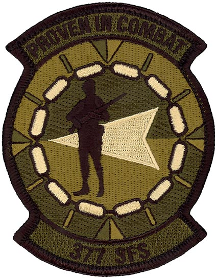 377th SECURITY FORCES SQUADRON - OCP