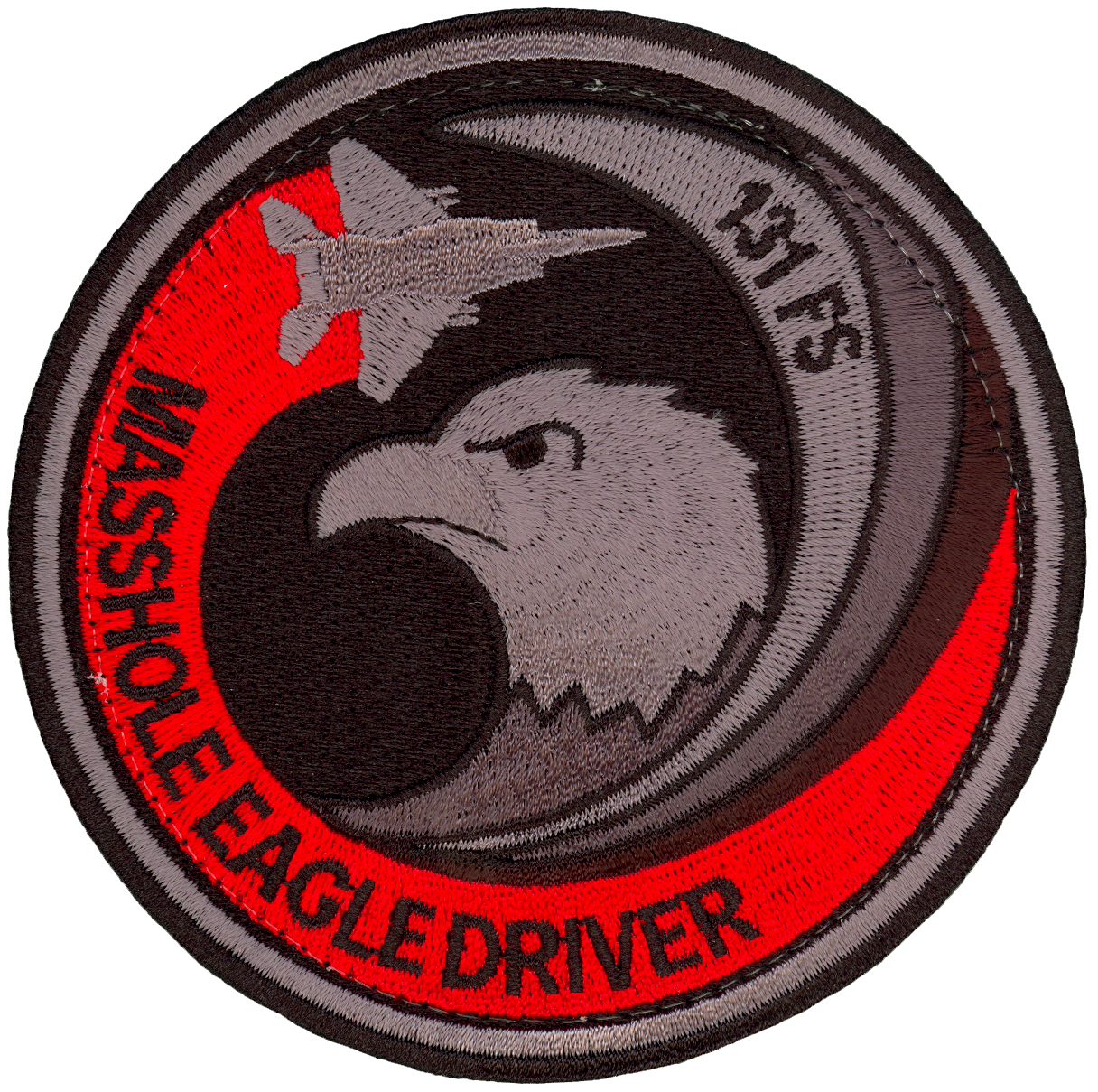 131st Fighter Squadron Patch