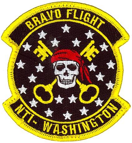 22nd Intelligence Squadron Bravo Flight Flightline Insignia